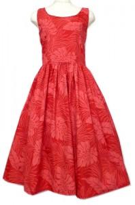 赤のスタンダードドレス