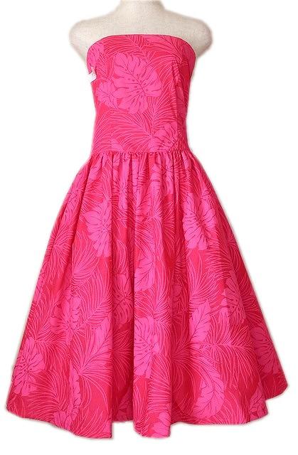 フラダンスドレス フュージア