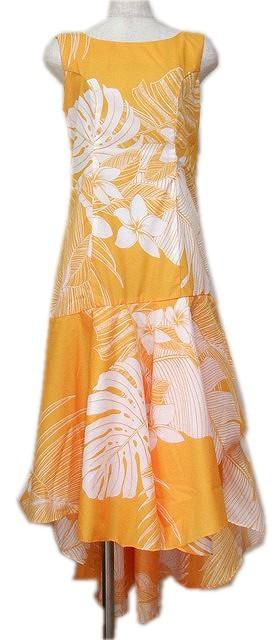 フラダンスドレス ラップフレア写真