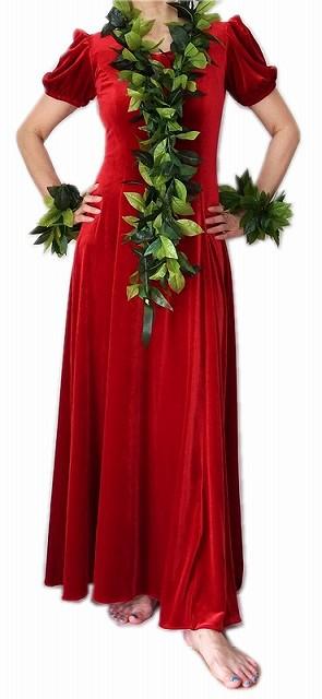 ベルベット・フラダンス ドレス写真