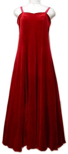 レッドのフラドレス