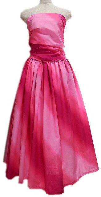 ピンク フラダンスドレス画像