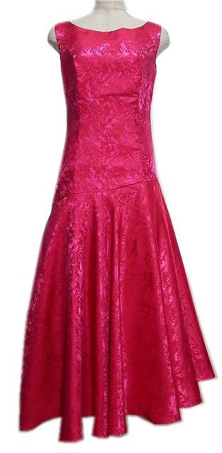 コーラルピンク フラドレス画像